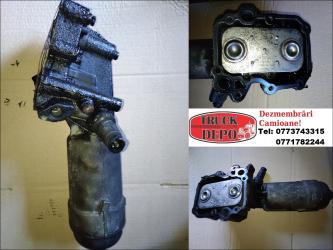 dezmembrari camion Termoflot cu carcasa filtru ulei MAN TGL 8.180