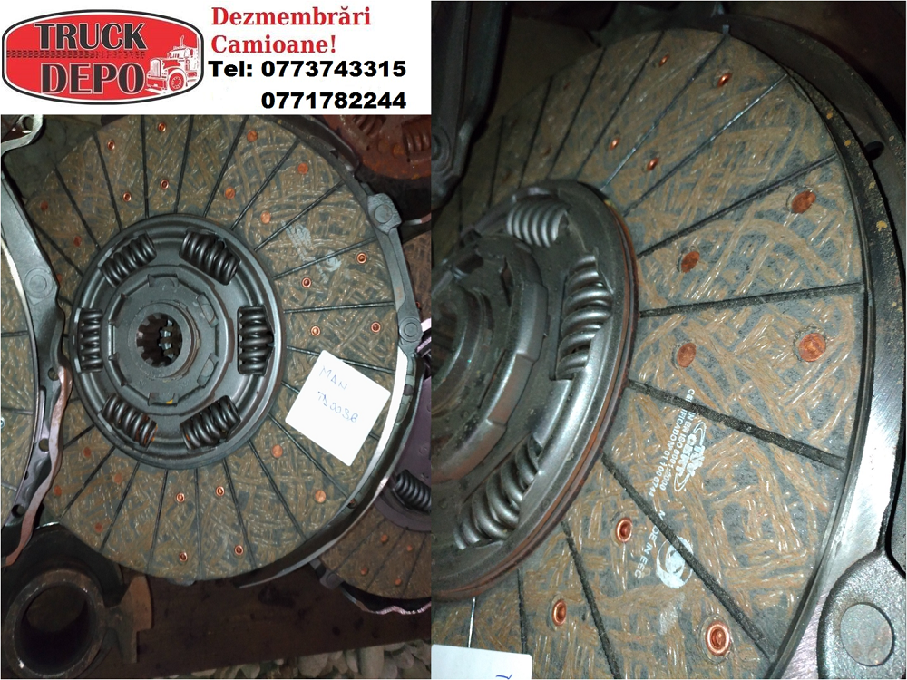 dezmembrari camion Kit ambreiaj reconditionat, original MAN LE 12.225