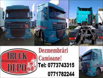 dezmembrari camion NOU LA TRUCK DEPO - DAF XF 105.460