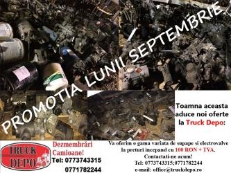 dezmembrari camion Promotia lunii Septembrie - Supape si electrovalve