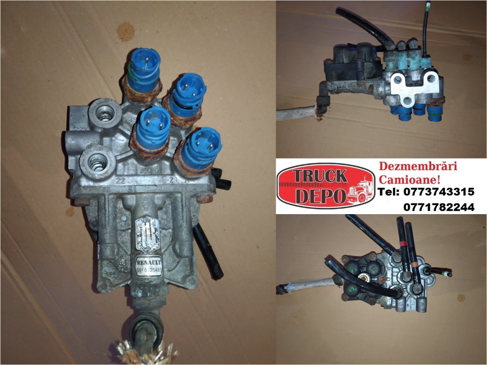 dezmembrari camion Supapa 4 circuite Renault Premium 420 DCI