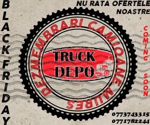 dezmembrari camion Black Friday - Truck Depo - Coming soon