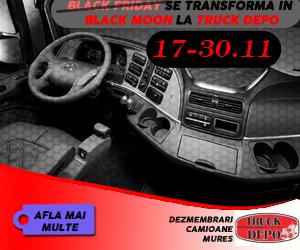 dezmembrari camion Black Friday - Black Moon