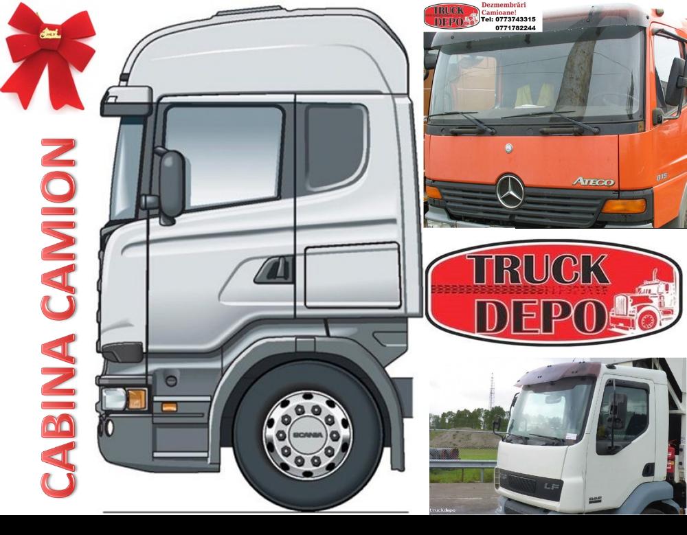 dezmembrari camion Cabine pentru diferite modele de camioane