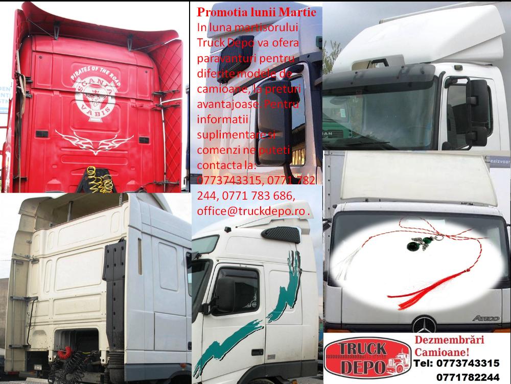 dezmembrari camion Promotia lunii martie - Paravanturi