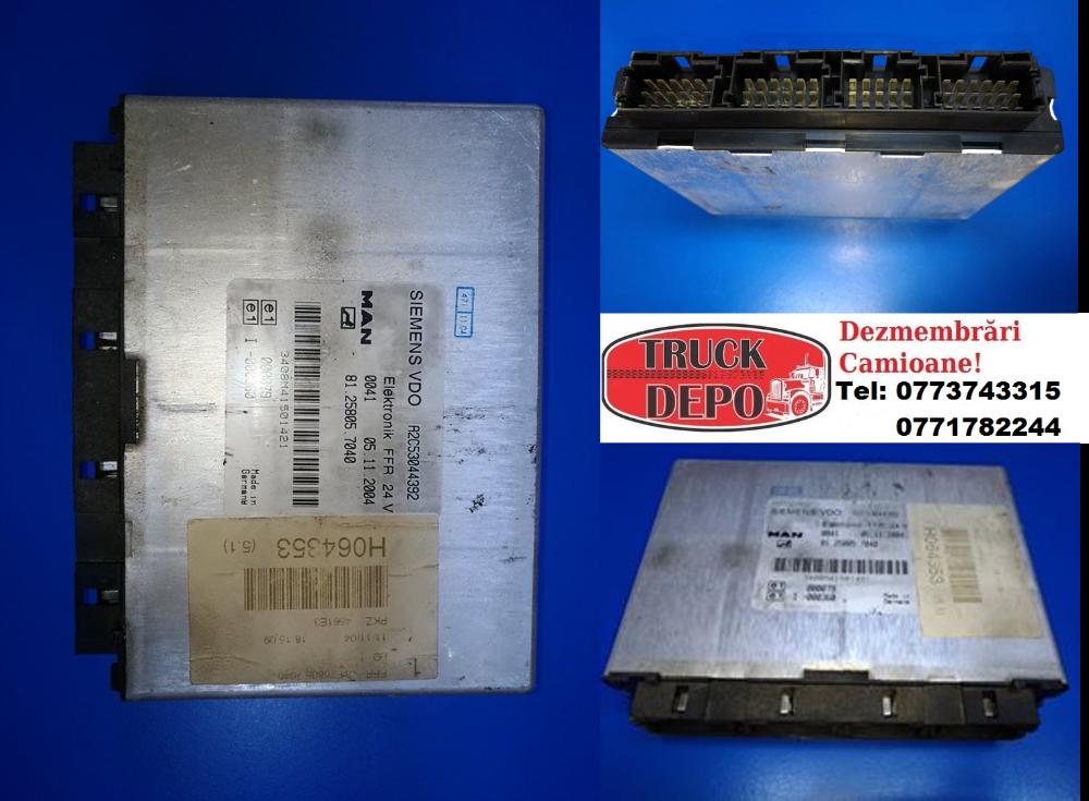 dezmembrari camion Calculator FFR MAN TGA 18.430 2005
