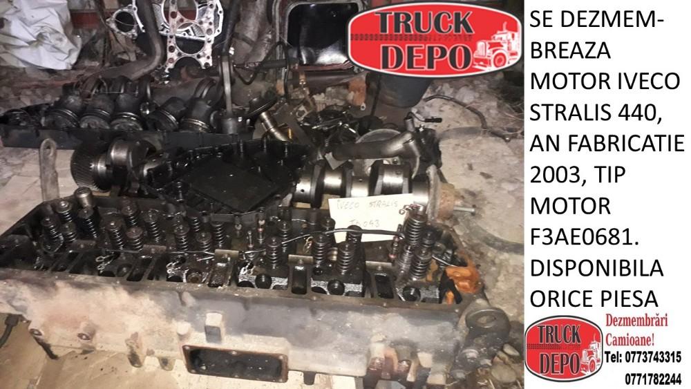 dezmembrari camion SE DEZMEMBREAZA MOTOR IVECO STRALIS 440