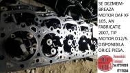 dezmembrari camioane SE DEZMEMBREAZA MOTOR DAF XF 105