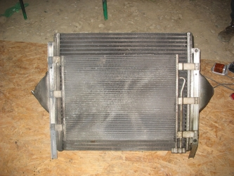 dezmembrari camion Intercooler+radiator Man 26.314
