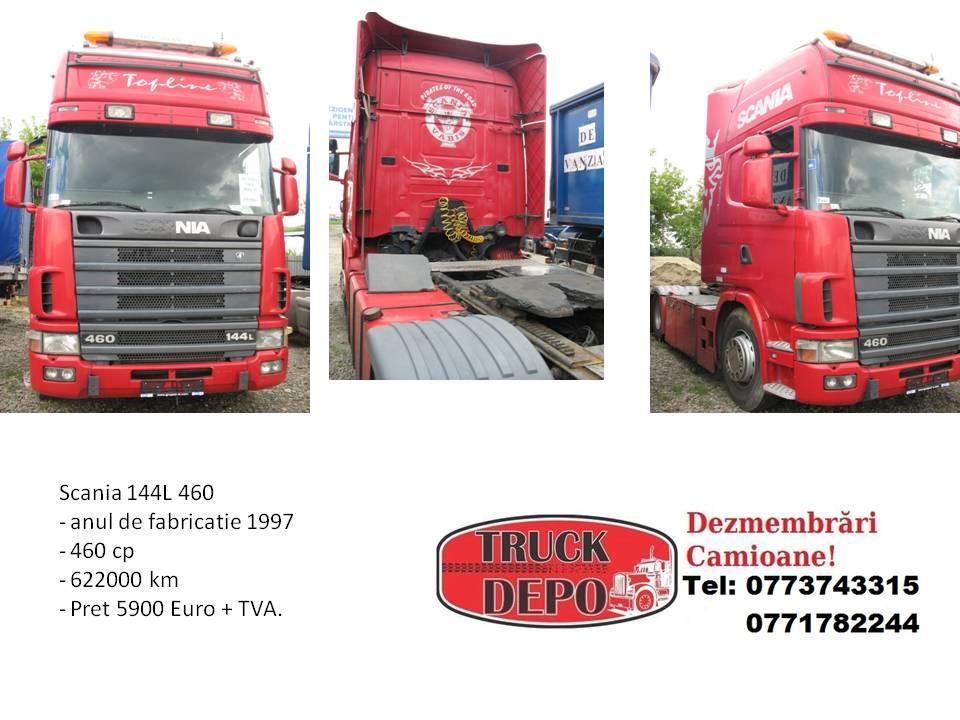 dezmembrari camion Scania 144 L 460