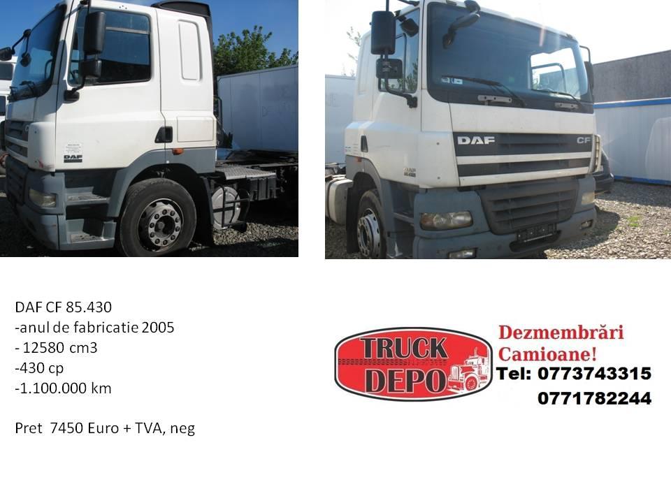 dezmembrari camion DAF CF 85.430.