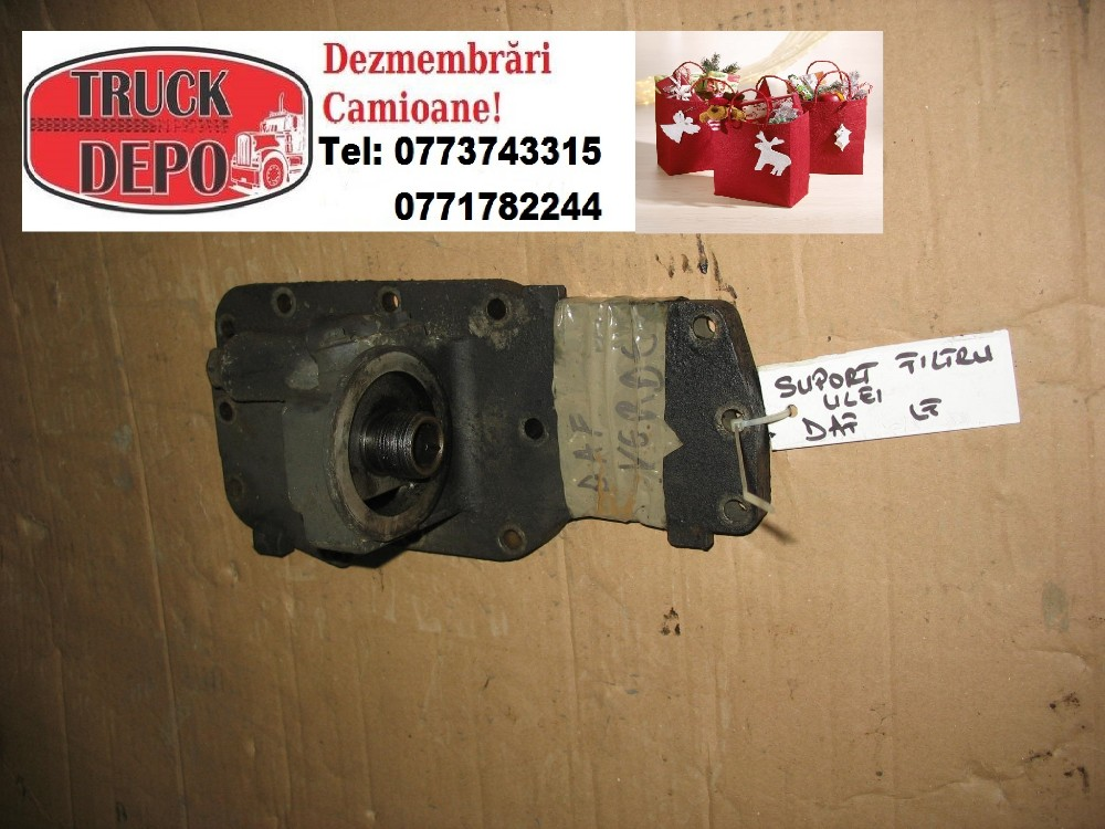 dezmembrari camion Suport filtru ulei DAF LF 45