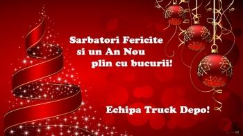 dezmembrari camion Sarbatori fericite