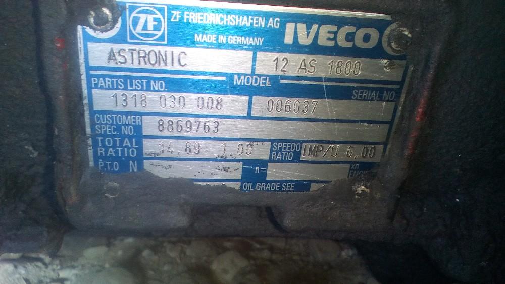 dezmembrari camion Cutie de viteza Iveco Magirus