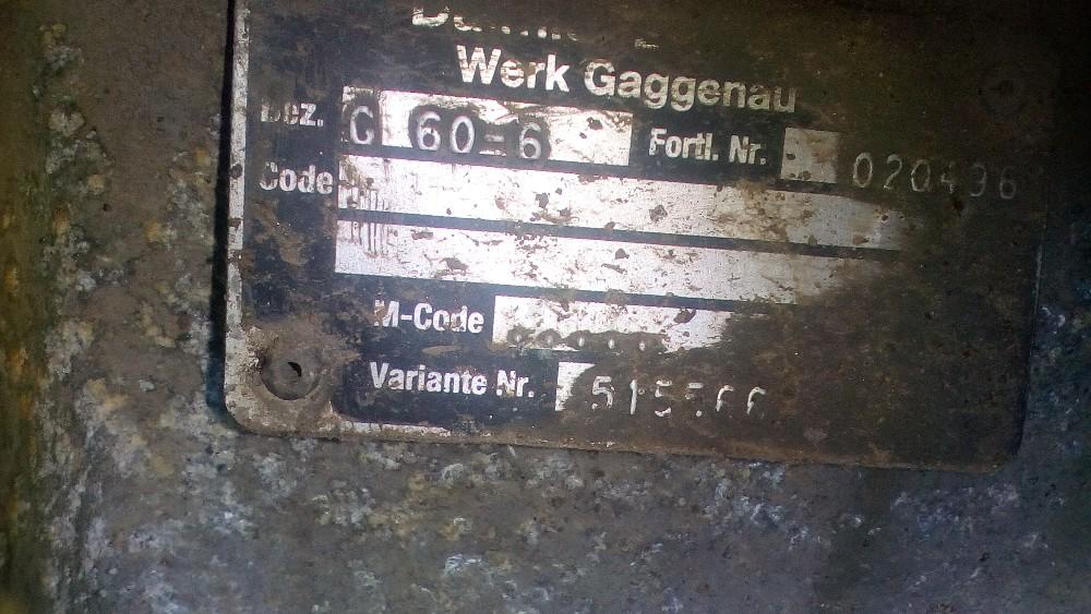 dezmembrari camion Cutie de viteza Mercedes Benz Atego 1017