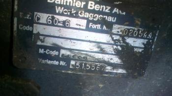 dezmembrari camion Cutie de viteza Mercedes Benz Atego 815