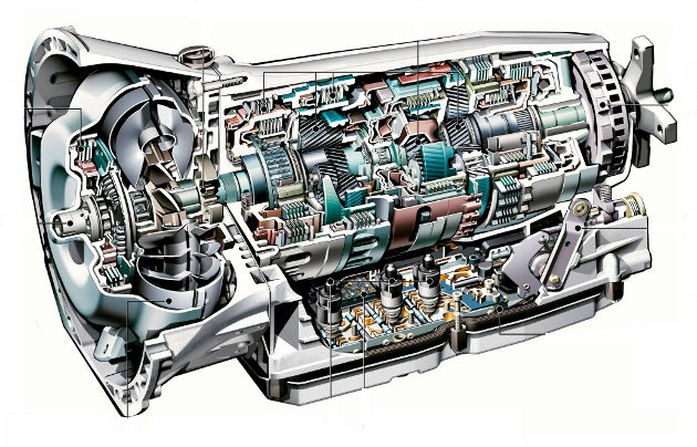 Cutie de viteza Scania 124 L