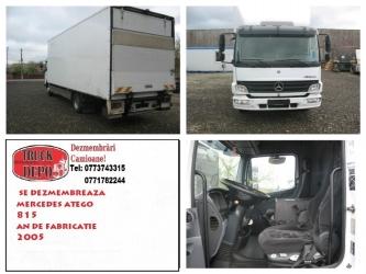 dezmembrari camioane Se dezmembreaza Mercedes ATEGO II 815
