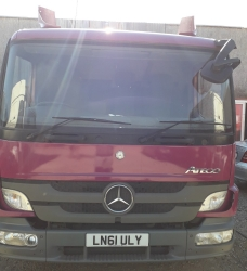 dezmembrari camion Mercedes Benz Atego 816