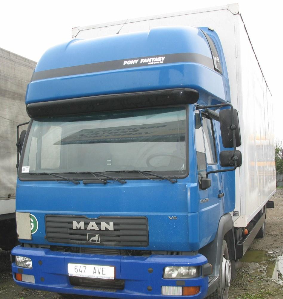 dezmembrari camion SE DEZMEMBREAZA Man LLC 12.225