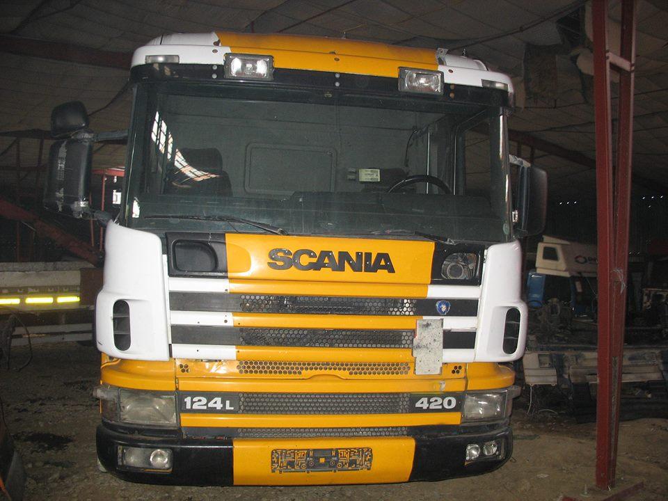dezmembrari camion Scania 124L 420