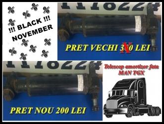 dezmembrari camion BLACK NOVEMBER! Telescop amortizor fata MAN TGX