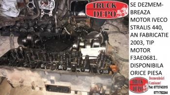 dezmembrari camioane SE DEZMEMBREAZA MOTOR IVECO STRALIS 440