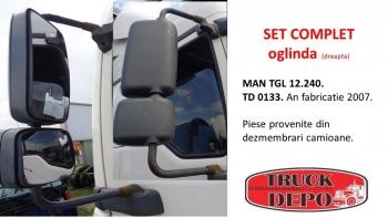 dezmembrari camioane SET COMPLET oglinda (dreapta) MAN TGL 12.240.