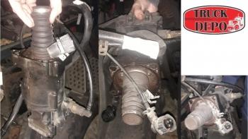 dezmembrari camion Cilindru receptor ambreiaj MAN TGX 18.440
