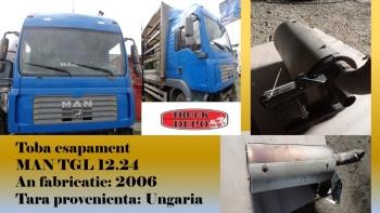 dezmembrari camioane Toba esapament MAN TGL 12.24