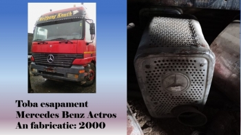 dezmembrari camion Toba esapament Mercedes Benz Actros 18.43