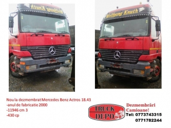 dezmembrari camion Mercedes Benz Actros 18.43