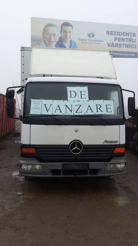 dezmembrari camion Mercedes Atego 815
