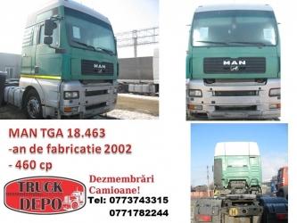 dezmembrari camion MAN TGA 18.463 - 2002