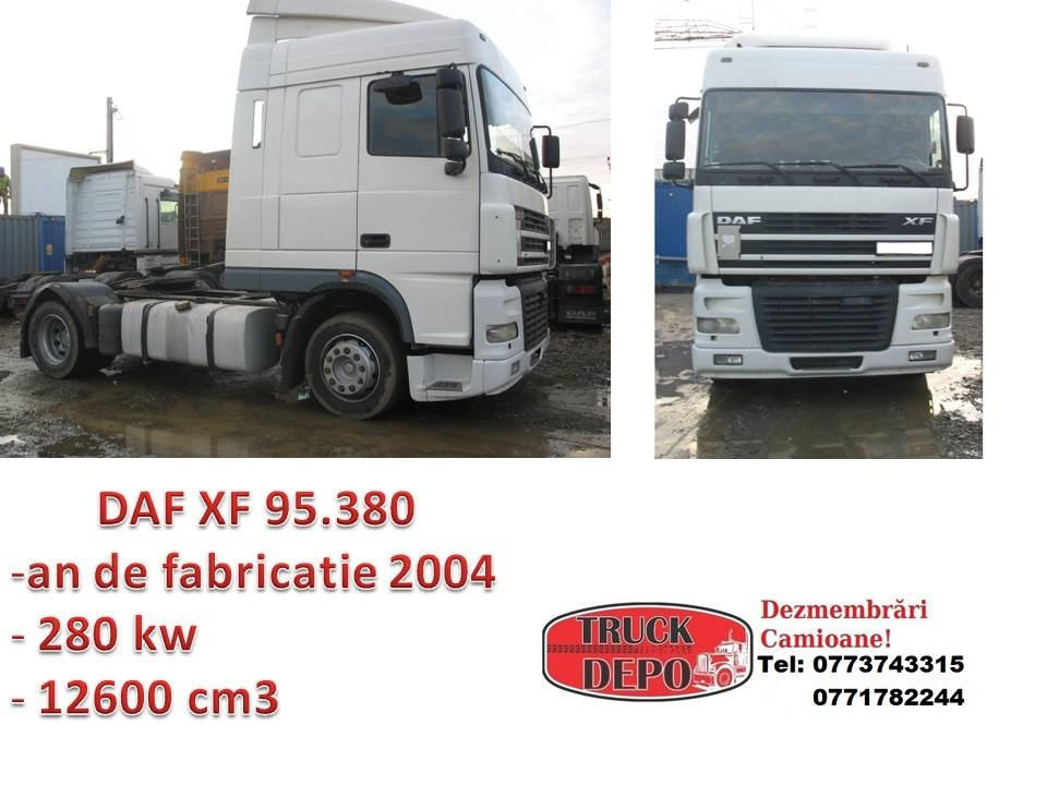 dezmembrari camion DAF XF 95.380